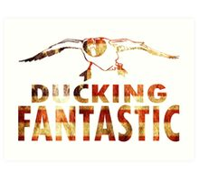 DUCKING FANTASTIC Art Print