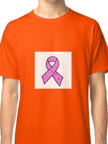 Breast Cancer Ribbon Zentangle Classic T-Shirt