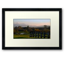 Way to the Lake Framed Print