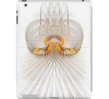 A mirror of flames iPad Case/Skin
