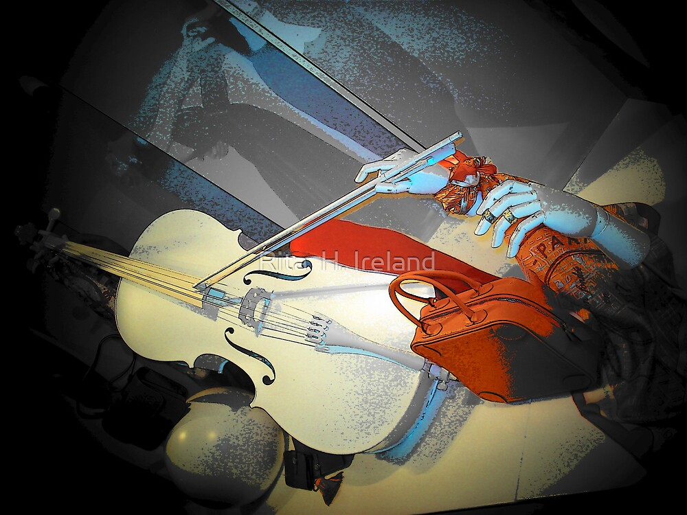 Dance to the White Violin.. by Rita  H. Ireland