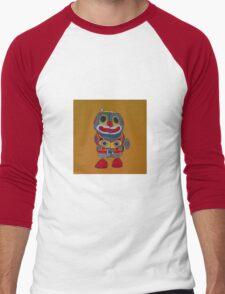 Jumping Robot 2 Men's Baseball ¾ T-Shirt