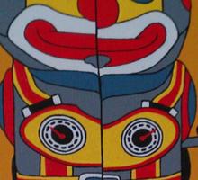 Jumping Robot 2 Sticker