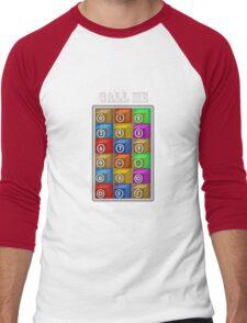 CALL ME 2 Men's Baseball ¾ T-Shirt