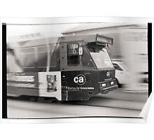 Tram Poster