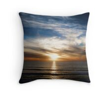 Perfect Del Mar Sunset Throw Pillow