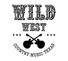 Wild West Country music Photographic Print