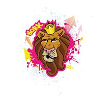 Bold as a Lion Photographic Print