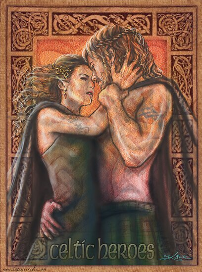 Celtic Heroes by katemccredie
