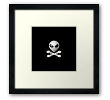 Spirate Skull Framed Print