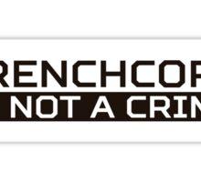 Frenchcore Black Sticker