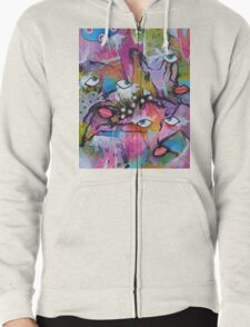 Contradictions Zipped Hoodie