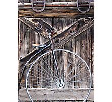 Bicycle built for one? Photographic Print