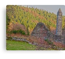 Round Towers of Ireland Canvas Print