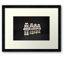 Trooper Parade Framed Print