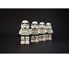 Trooper Parade Photographic Print