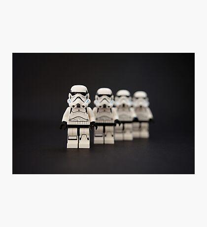 Trooper Parade Photographic Print