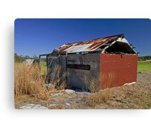 Abandoned shed Canvas Print