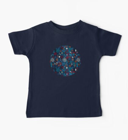 Earth, Water, Fire, Air - a watercolor pattern Baby Tee