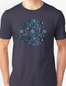 Earth, Water, Fire, Air - a watercolor pattern Unisex T-Shirt