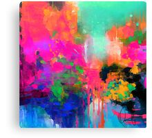 Montesilvano-Abstract Canvas Print