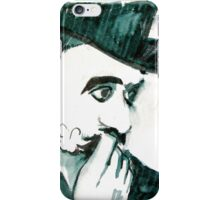 A Sad Portrait of Chaplin iPhone Case/Skin