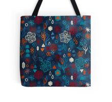 Earth, Water, Fire, Air - a watercolor pattern Tote Bag
