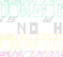 GODISNOWHERE - Philip K. Dick Sticker