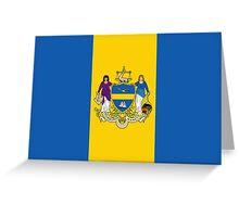 Flag of Philadelphia  Greeting Card