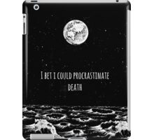 Procrastinate Death iPad Case/Skin
