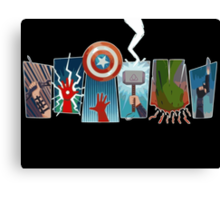 Avengers Power Canvas Print