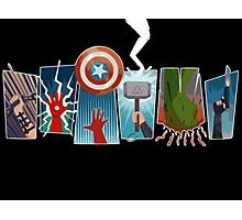 Avengers Power Photographic Print