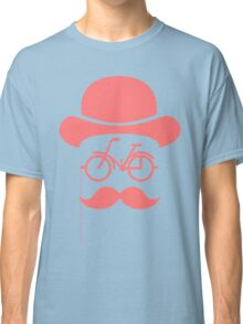 Retro cylinder bicycle Classic T-Shirt