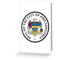 Seal of Philadelphia Greeting Card