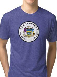 Seal of Philadelphia Tri-blend T-Shirt