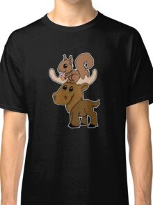 Moose, squirrel and cupcake Classic T-Shirt