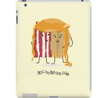Bacon and Pancake = best friends iPad Case/Skin