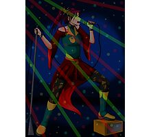 Singing time Photographic Print