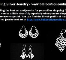 Sterling Silver Jewelry - www.baliboutiqueonline.com by baliboutique