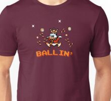 Scrooge McDuck, ballin' - 8bit Unisex T-Shirt