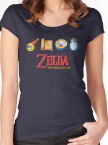 The Legend of Zelda Wind Waker Women's Fitted Scoop T-Shirt
