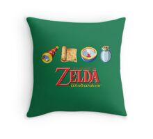 The Legend of Zelda Wind Waker Throw Pillow