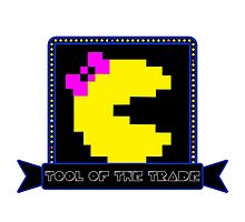 Tool of the Trade - Ms. Pac-man by Hidesquadron1