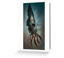 Yawanpok the Void Menace Greeting Card
