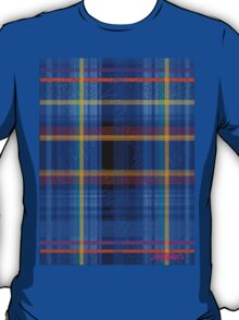McBlue Plaid T-Shirt