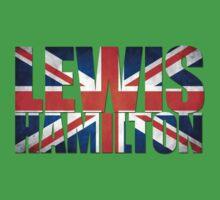 Lewis Hamilton - British Flag One Piece - Short Sleeve