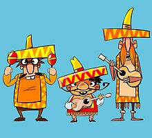 Mexican musicians by MrNicekat