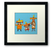 Mexican musicians Framed Print