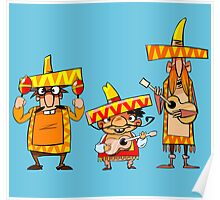 Mexican musicians Poster