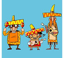 Mexican musicians Photographic Print
